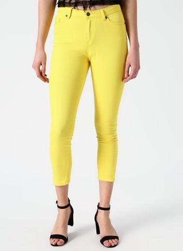 Limon Company Limon Sarı Pantolon Sarı